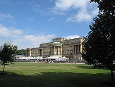 buckingham palace garden side entrance - Google Search