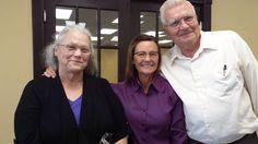 Jimmie, Linda and me!