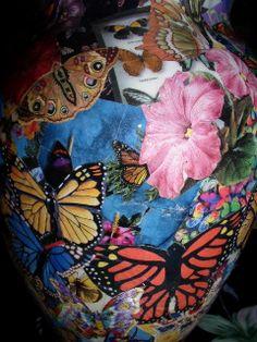 Butterly vase