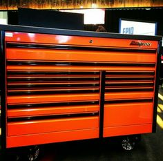 snap on tool box orange. snap-on snap on tool box orange 1