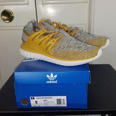 100% authentic f198c e1678 adidas Shoes   Men S Adidas Tubular Nova Pk Primeknit Bb8407   Color   Yellow   Size  Various