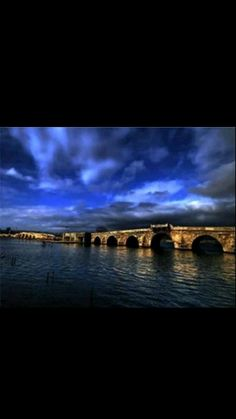 Kanuni Sultan Süleyman Bridge-II.Selim-Year built 1567-Arcitect:Mimar Sinan-İstanbul-Turkiye