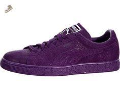 Puma Suede Classic  Damen Sneakers  6.5 B(M) USPuma Black royal Purple