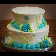 funky teacup wedding cake!