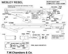 Rebel Webley - Airgun spares | Chambers Gunmakers - Airgun, Shotgun & Rifle spares. Parts for Air Arms, BSA, Crosman, Diana, Gamo, Relum, Webley, Weihrauch and many, many more
