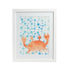 Sea Life Crab Wall Art