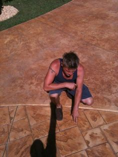 Custom Stamped Concrete Contractor- Southeast Texas.   Repin & Click For More Info or Quote @ Your Home / Business Backyard Patio, Backyard Ideas, Concrete Contractor, Stamped Concrete, Entrepreneur Quotes, Outdoor Spaces, Texas, Outdoor Stuff, Pool Ideas