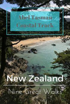 Abel Tasman: New Zealand's 9 Great Walks (With images) Hiking Spots, Hiking Trails, Tasmania Travel, Abel Tasman National Park, New Zealand Adventure, New Zealand Travel Guide, Great Walks, Asia Travel, Solo Travel