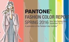 Mode kleuren lente zomer 2016
