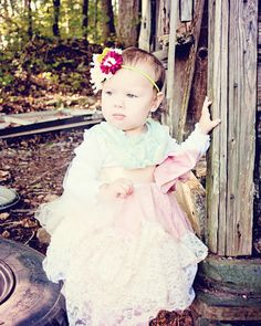 toddler FairyTale vintage inspired flowergirl Lace by chachalouise, $70.00