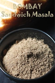 Bombay Sandwich Masala Recipe / Sandwich Masala Powder Recipe - Yummy Tummy This is one of the special powder which is used all over mumbai street shops for their sandwiches. I came across this recipe Veg Recipes, Indian Food Recipes, Cooking Recipes, Smoker Recipes, Indian Snacks, Milk Recipes, Cooking Tips, Vegetarian Recipes, Recipies