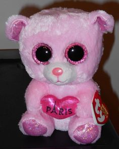 Ty Beanie Boos ~ PARIS the 6