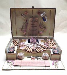 Ancien JEU 1900 Boite Dentellière Dentelle PUY AUX Fuseaux Cartier Bresson Atlas | eBay