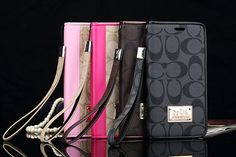 Coach ブランド アイフォン7/7plus手帳型ケース ギャラクシーs6/s7edge 女性向けカバー アイフォン6s/6splus ケース シンプル風