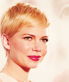 Michelle Williams  I love this girl! Such a strong gorgeous actress:) we both miss heath