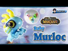 Kawaii Baby Murloc (World of Warcraft) polymer clay tutorial