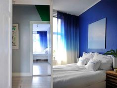 My bedroom – a blue heaven (via Bloglovin.com )