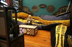Game Room Tentacles  | The game room is filled with soft cushion tentacles! The largest one is 20 feet long. The custom made bean-bags are great for movie nights, epic game sessions, and even napping.