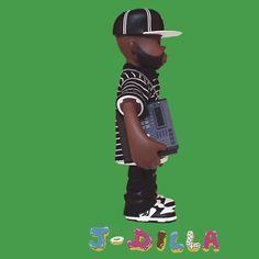J Dilla tshirt