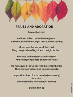 Thanksgiving Prayer, All Heart, Praise The Lords, Righteousness, The Covenant, Psalms, Prayers, Messages, Prayer