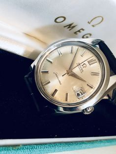 30ea8b558523b Stunning Omega Automatic second hand vintage wristwatch FOR SALE from Fine  Auction Club - click 👇