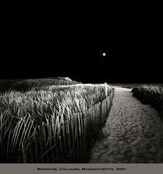 Moonrise, Chilmark, Massachusetts 2001 by David Fokos