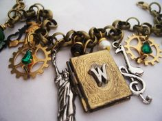 Wicked the musical   wizard of OZ  charm bracelet  by 1luckysoul