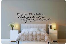 ... tekst slaapkamer uitspraken slaapkamer ooit muurteksten en Quotes
