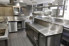 Kitchen Set Up Small E Layout Pantry Restaurant
