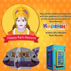 Kinderena wishes all a blessed #RamNavami