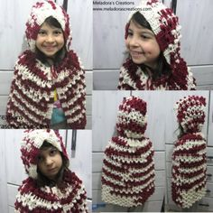 Red Riding Hood - Crochet Cape and Hood - Free Crochet Pattern
