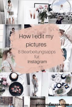 How I edit my Pictures Apps Für Instagram, Instagram Story, Online Photo Editing, Image Editing, Editing Apps, Photography Editing, Editing Pictures, Stock Foto, Blog Tips