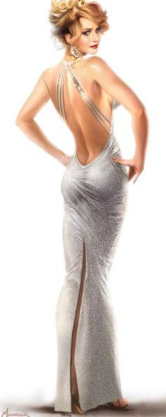 vanityfair:  How Jennifer Lawrence's Doritos Habit Ruined Her American Hustle Costumes jaglady