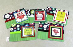 Any Occasion Notecards   Box Set NoteNotecards   Handmade Notecards   Friendship Notcards   One of a Kind Notecards   Blank Note Cards   by TheCardCornerNC on Etsy