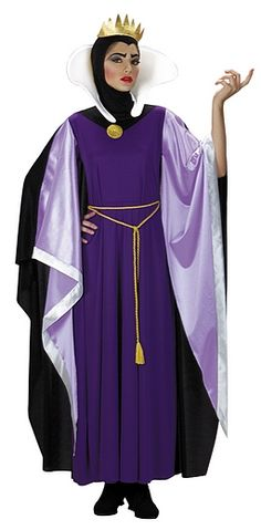 Snow White Evil Queen Costume - This wouldn't be difficult to simplify