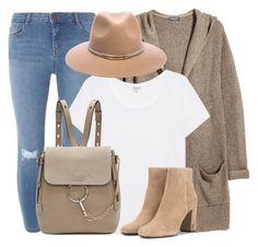 Ten Fourteen by monmondefou on Polyvore featuring polyvore fashion style H&M Splendid Dorothy Perkins Yves Saint Laurent Chloé Michael Stars clothing beige neutral