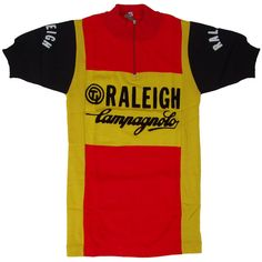 The iconic TI Raleigh / Campagnolo retro wool jersey