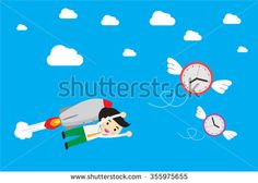 stock-vector-businessman-flying-rocket-with-catching-money-which-are-flying-in-the-air-idea-business-concept-355975655.jpg (450×321)