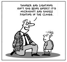 Lots of awesome Cloud cartoons behind this link
