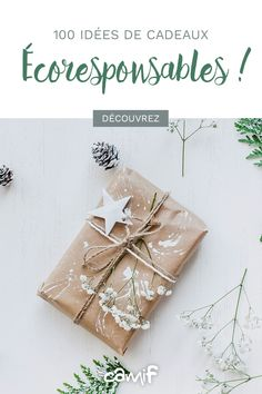 Idées de cadeaux de Noël durables pour petits et grands. 🌱🌎 Birthday Gift Wrapping, Wedding Gift Wrapping, Creative Gift Wrapping, Christmas Gift Wrapping, Christmas Gift Decorations, Diy Christmas Gifts, Diy Presents, Noel Christmas, Packaging