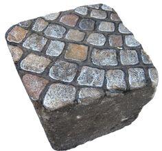 Cobblestones - Cobblestone street on a cobblestone. SERiES 6.... Rock art Paris by Stephane JASPERT SERiES 0 -13