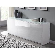 249.99 € ❤ Les #Buffets - PURA #Buffet 200cm doté de 3 portes pour accéder aux 6 compartiments - Blanc laqué brillant ➡ https://ad.zanox.com/ppc/?28290640C84663587&ulp=[[http://www.cdiscount.com/maison/meubles-mobilier/pura-buffet-200cm-blanc-laque-brillant/f-117600902-purabl.html?refer=zanoxpb&cid=affil&cm_mmc=zanoxpb-_-userid]]