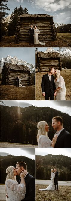 An old wooden farmers hut in the Italian Alps. Erika & Nathan spend their elopement day exploring in the Dolomites. Photos by Wild Connections Photography - Alps & Dolomites Elopement Photographer Elope Wedding, Italy Wedding, Wedding Shoot, Wedding Ceremony, Intimate Weddings, Real Weddings, Destination Weddings, Elopement Inspiration, Greatest Adventure