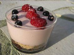 Tiramisu à la fraise en verrines