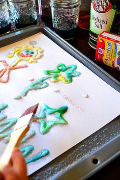 Salt Painting! | Best Activities for Kids