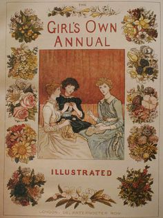 Kate Greenaway contributions to the Girl's Own Annual 1887