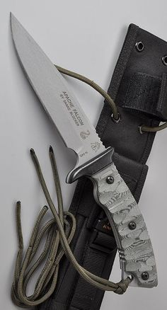 Tops Knives Apache Falcon Fixed Blade Knife Cool Knives, Knives And Tools, Knives And Swords, Tactical Knives, Tactical Gear, Bushcraft, Mens Toys, Combat Knives, Throwing Knives