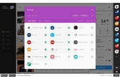 Functional and visual redesign of Google News | Abduzeedo Design Inspiration