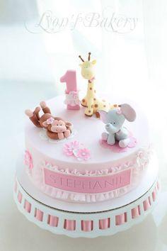 Торт на 1 год для девочек. (подборка)   146 фотографий