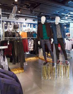 Topman - Oxford Street - Christmas instore